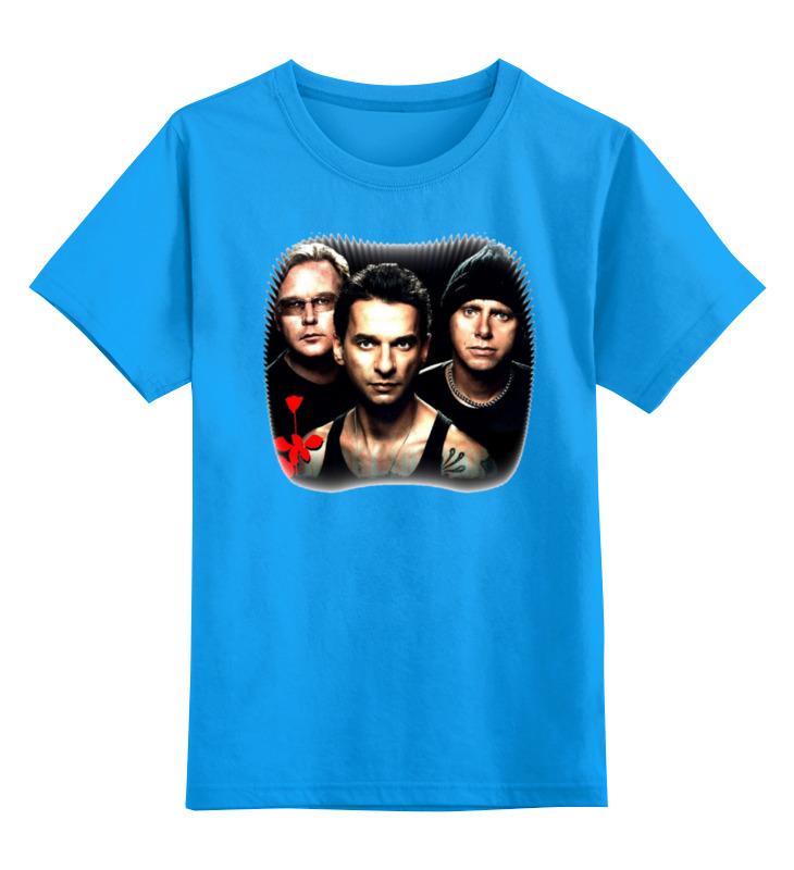 Фото - Детская футболка классическая унисекс Printio Depeche mode детская футболка классическая унисекс printio depeche mode band stand