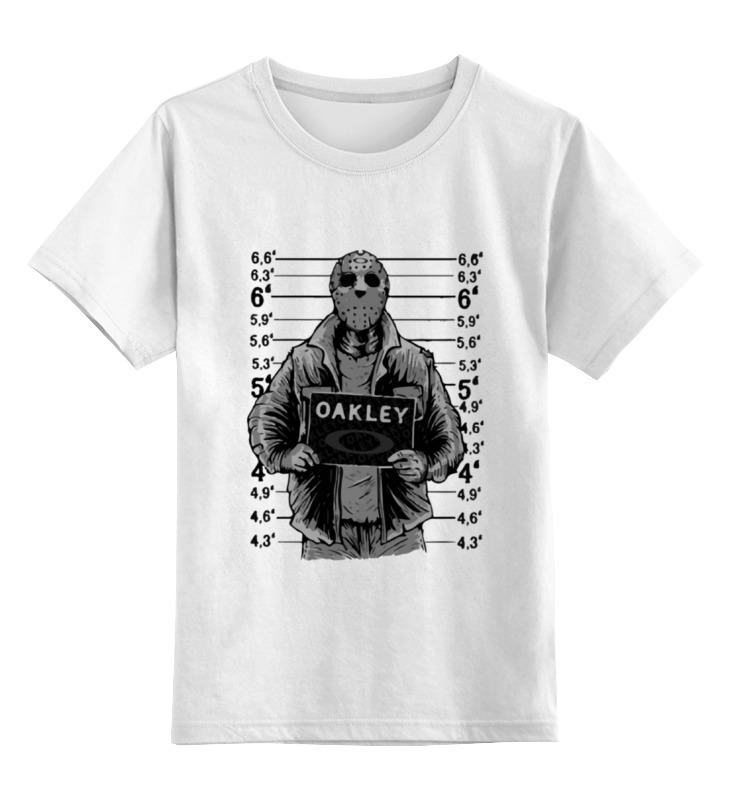 Детская футболка классическая унисекс Printio Jason voorhees (пятница 13) цены онлайн