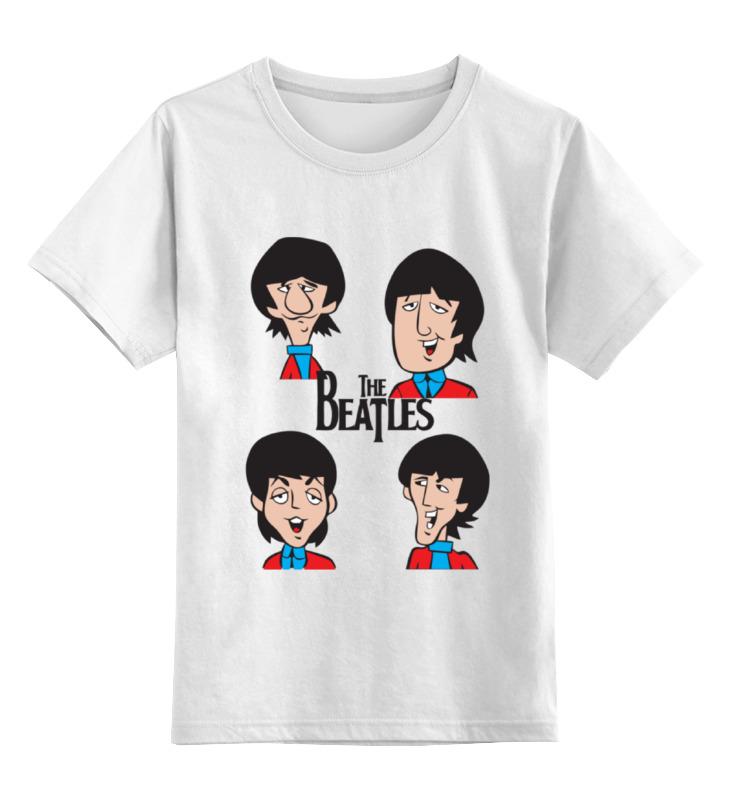 Детская футболка классическая унисекс Printio Битлз (the beatles) футболка классическая printio пол маккартни