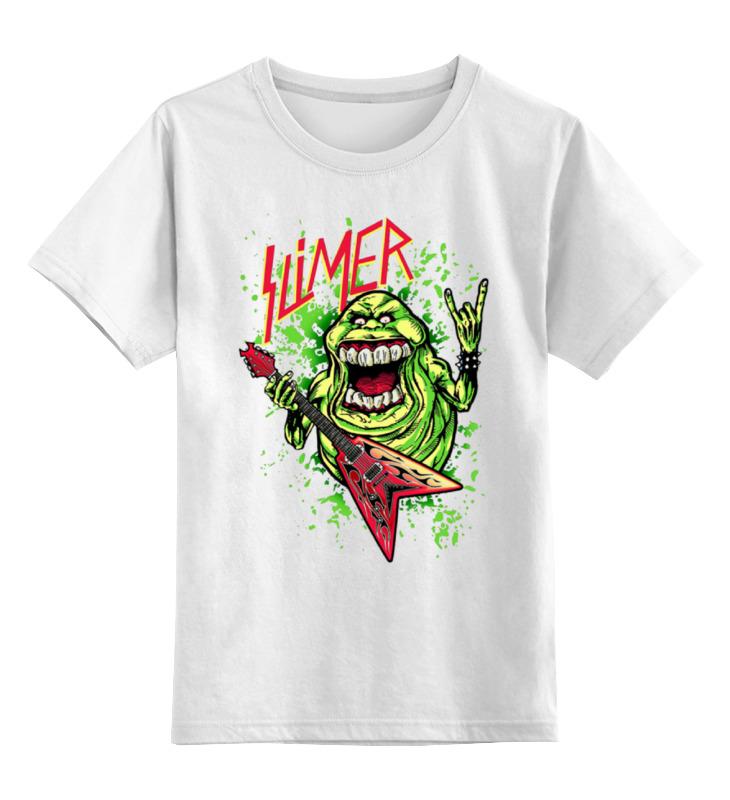 Детская футболка классическая унисекс Printio Лизун/slayer