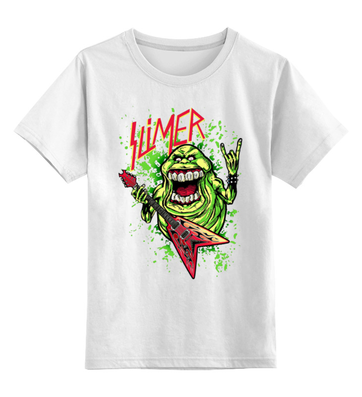 Детская футболка классическая унисекс Printio лизун/slayer майка классическая printio slayer season in the abyss 1990