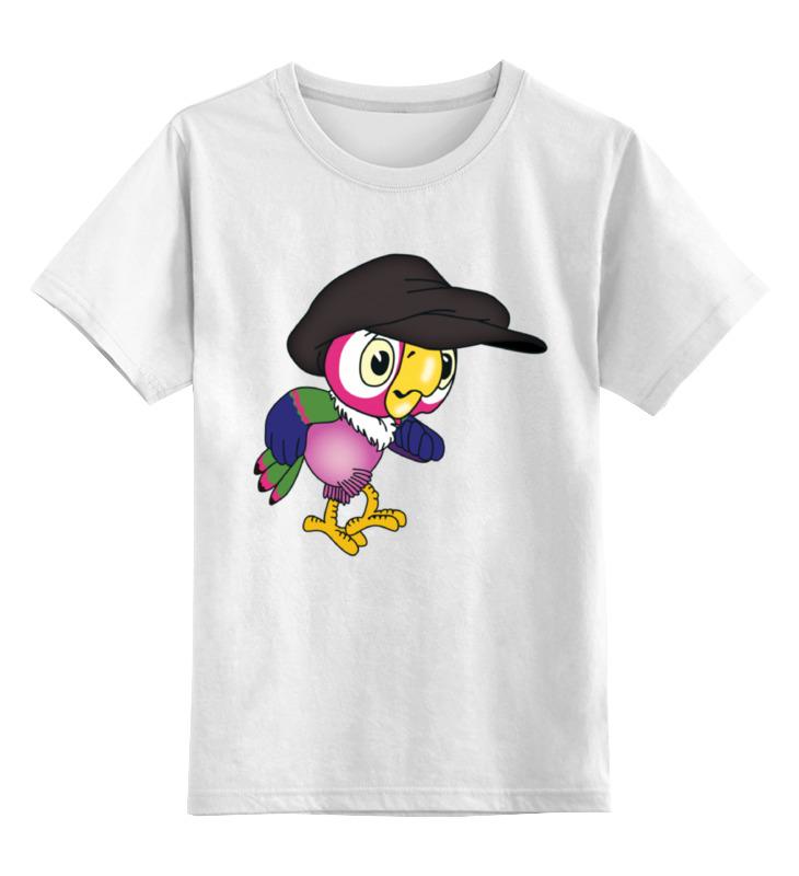 Детская футболка классическая унисекс Printio Попугай кеша лонгслив printio попугай кеша 2
