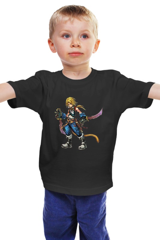 Детская футболка классическая унисекс Printio Финал фентази билеты на финал евро 212