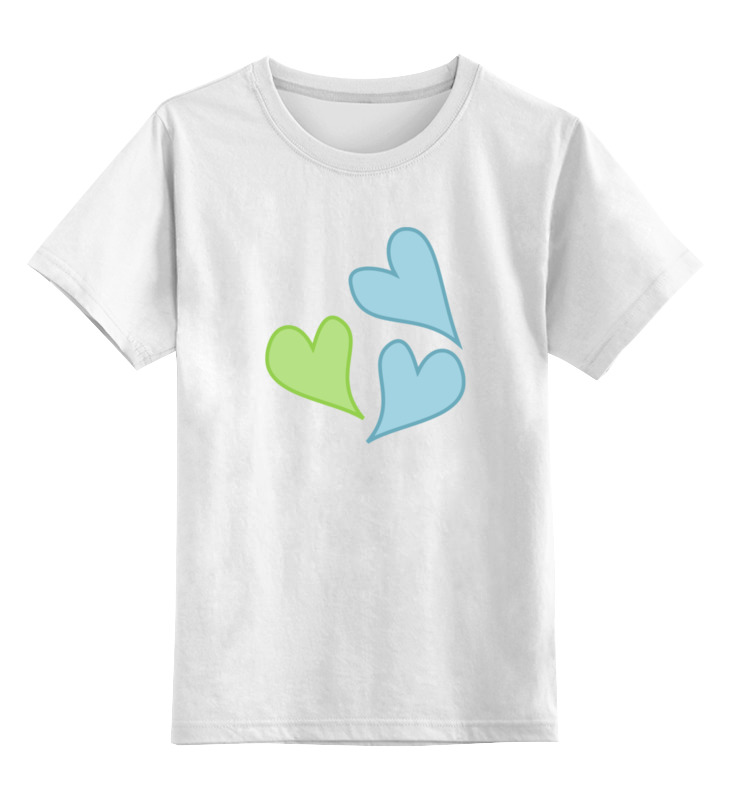 Детская футболка классическая унисекс Printio Сердца (my little pony) детская футболка классическая унисекс printio hello my little friend