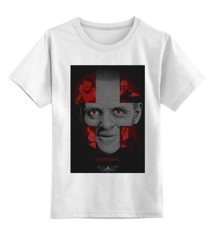 Детская футболка классическая унисекс Printio Молчание ягнят