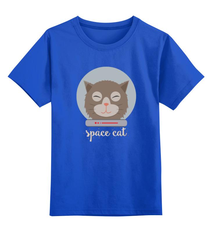 Детская футболка классическая унисекс Printio Космо кот (space cat) детская футболка классическая унисекс printio space drink