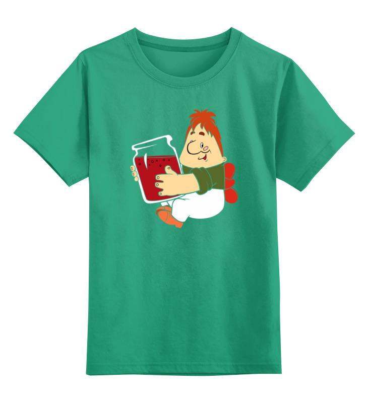 Детская футболка классическая унисекс Printio Карлсон который живет на крыше блокнот printio ночь на крыше