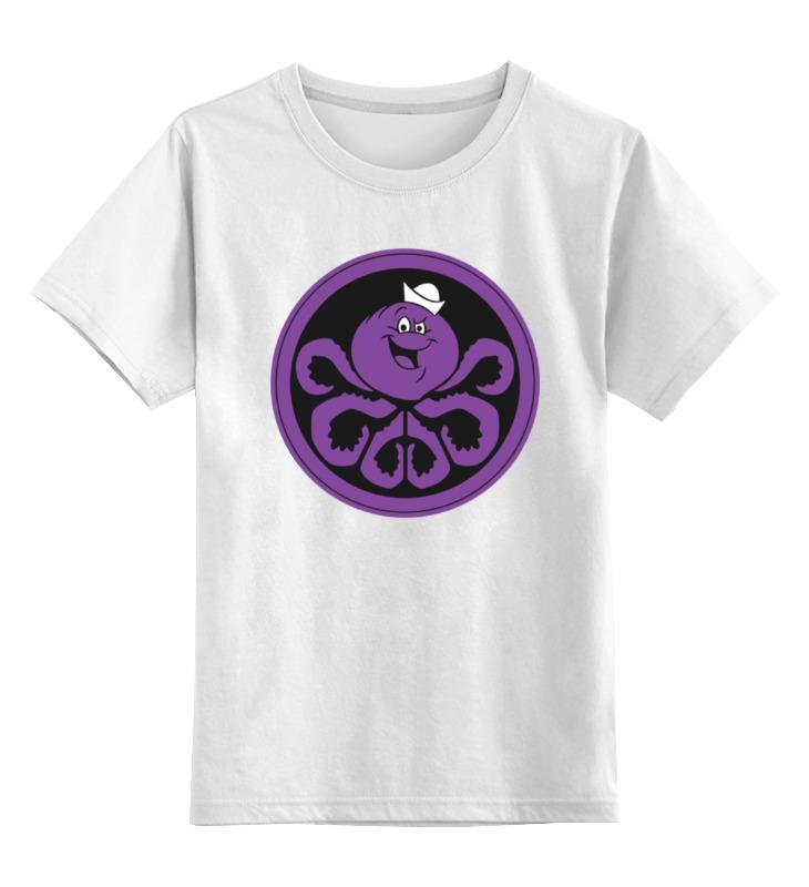 Детская футболка классическая унисекс Printio Осьминог детская футболка классическая унисекс printio octopus осьминог