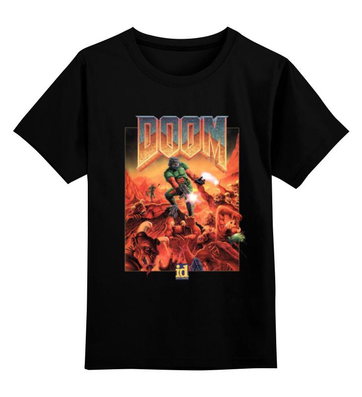 Детская футболка классическая унисекс Printio Doom game детская футболка классическая унисекс printio this is not doom
