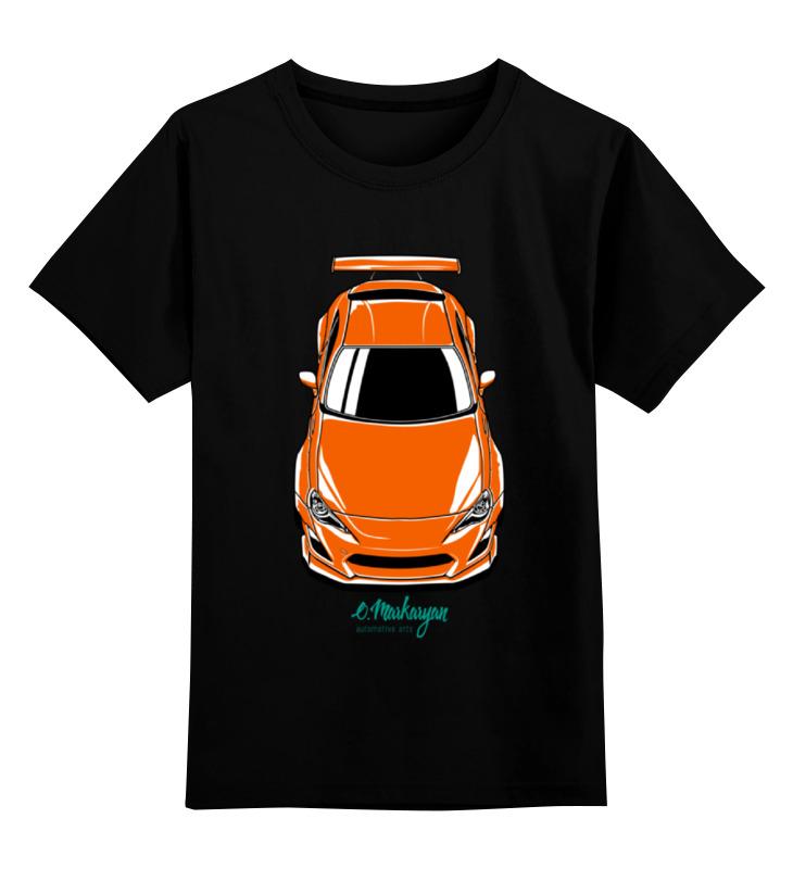 Детская футболка классическая унисекс Printio Toyota gt86 / scion frs цена