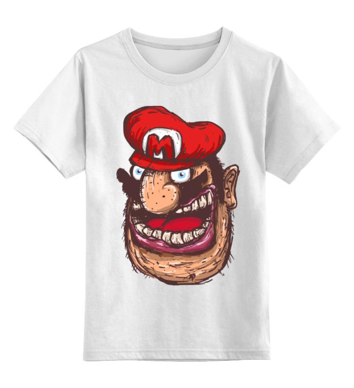 Детская футболка классическая унисекс Printio Марио армян sbart upf50 rashguard 2 bodyboard 1006
