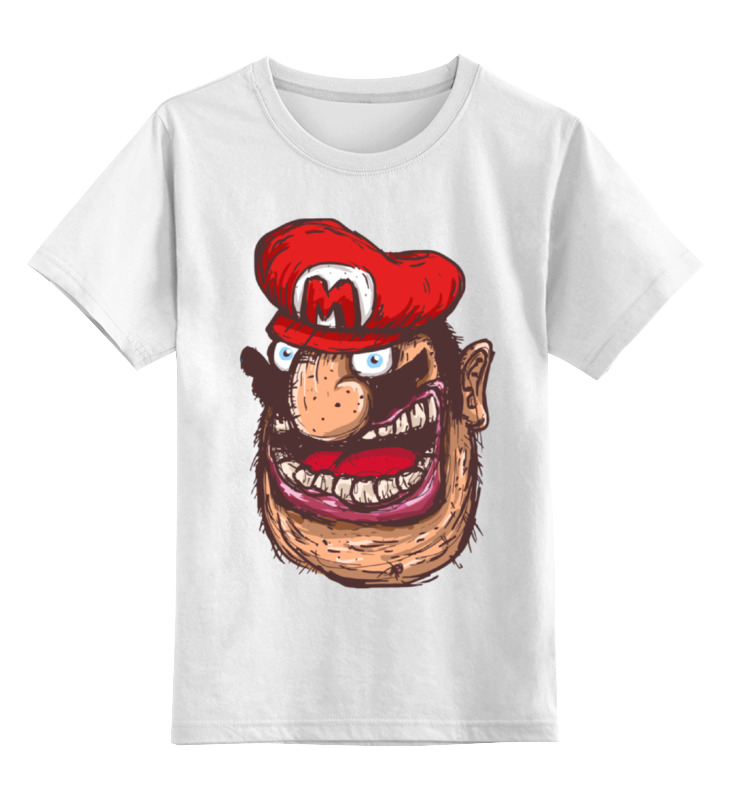Printio Марио армян детская футболка классическая унисекс printio череп марио