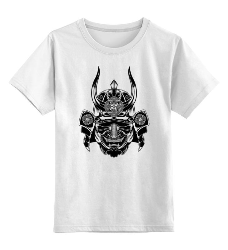 Детская футболка классическая унисекс Printio Самурай dkny ny8867