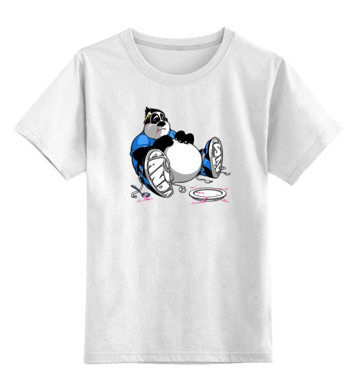 Детская футболка классическая унисекс Printio Смешная панда детская футболка классическая унисекс printio король панда