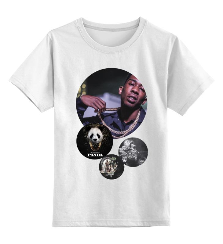 Детская футболка классическая унисекс Printio Desiigner цена