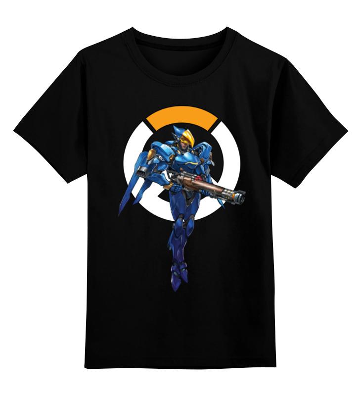 Детская футболка классическая унисекс Printio Pharah overwatch / фарра овервотч цены онлайн