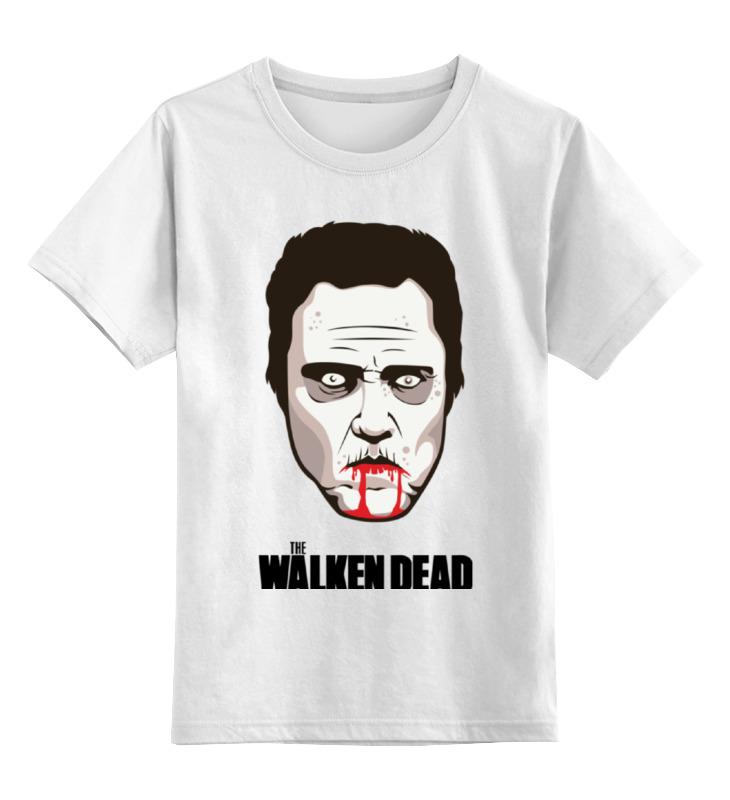 Детская футболка классическая унисекс Printio Валкен (ходячие мертвецы) цена