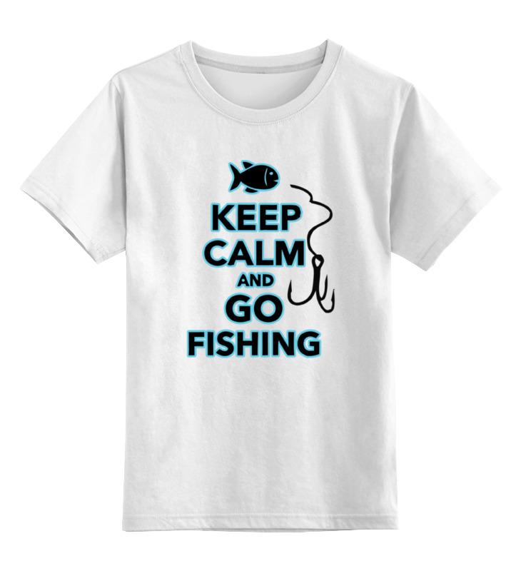 Детская футболка классическая унисекс Printio Иди на рыбалку детская футболка классическая унисекс printio иди ты
