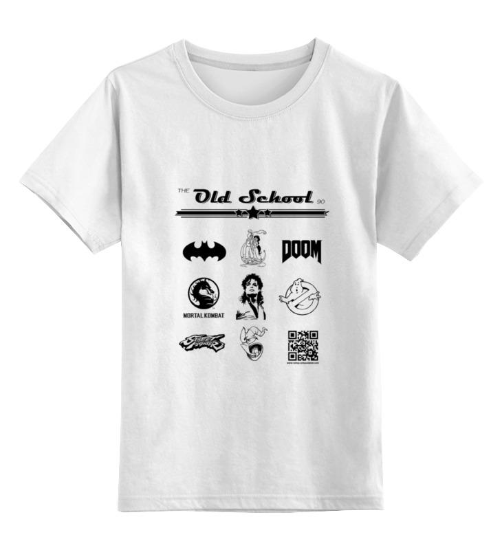 Детская футболка классическая унисекс Printio the old school 90 series ii