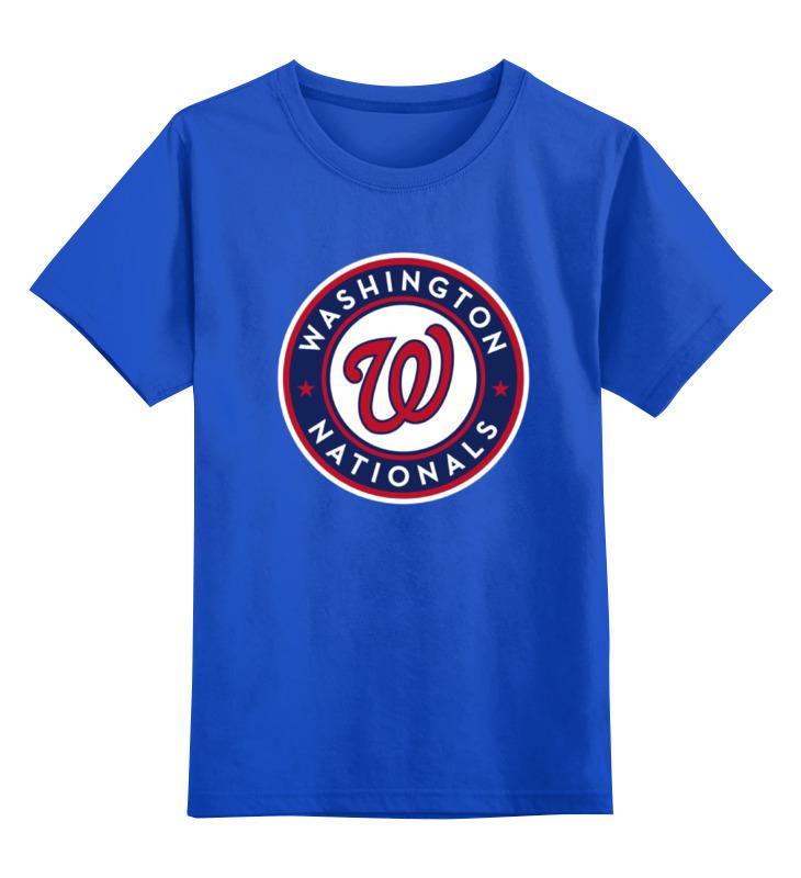Детская футболка классическая унисекс Printio Washington nationals
