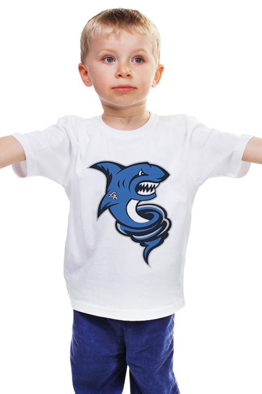 Детская футболка классическая унисекс Printio Акула детская футболка классическая унисекс printio мачете