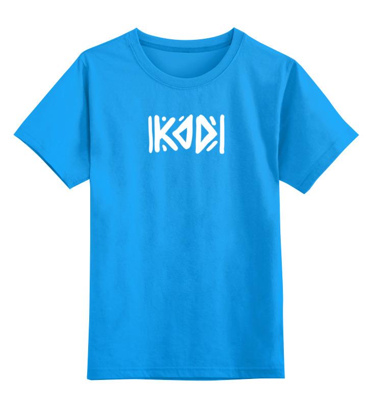 Printio Футболка с логотипом kod футболка wearcraft premium slim fit printio с логотипом kod