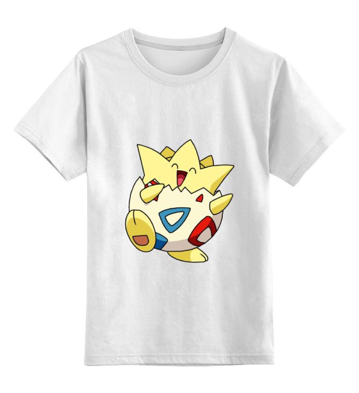 Детская футболка классическая унисекс Printio Покемон тогипи