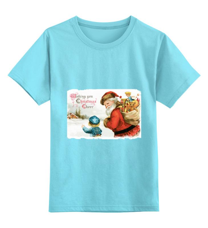 Детская футболка классическая унисекс Printio Дед мороз