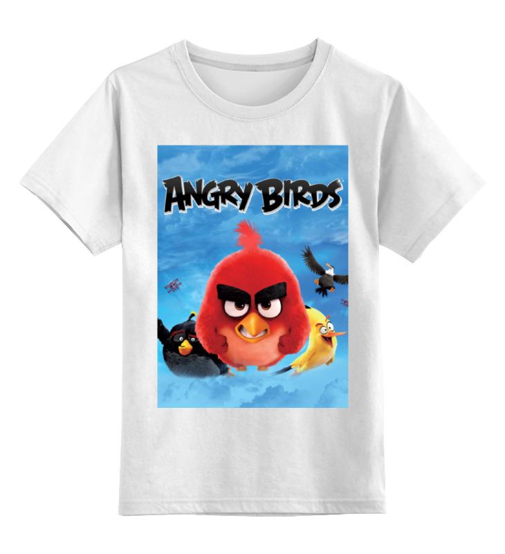 Детская футболка классическая унисекс Printio Engry birds 2016