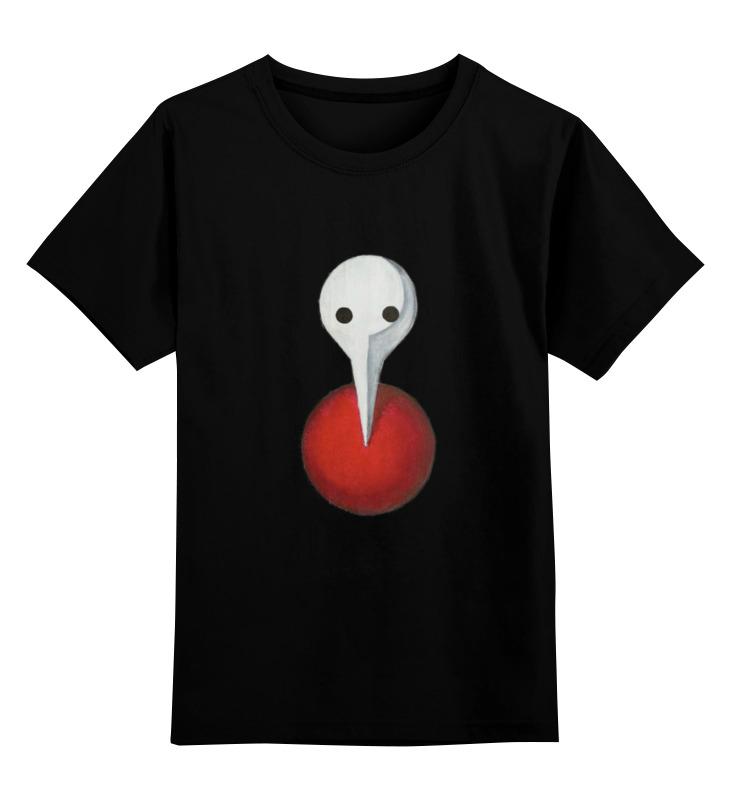 Детская футболка классическая унисекс Printio Neon genesis evangelion angel mask