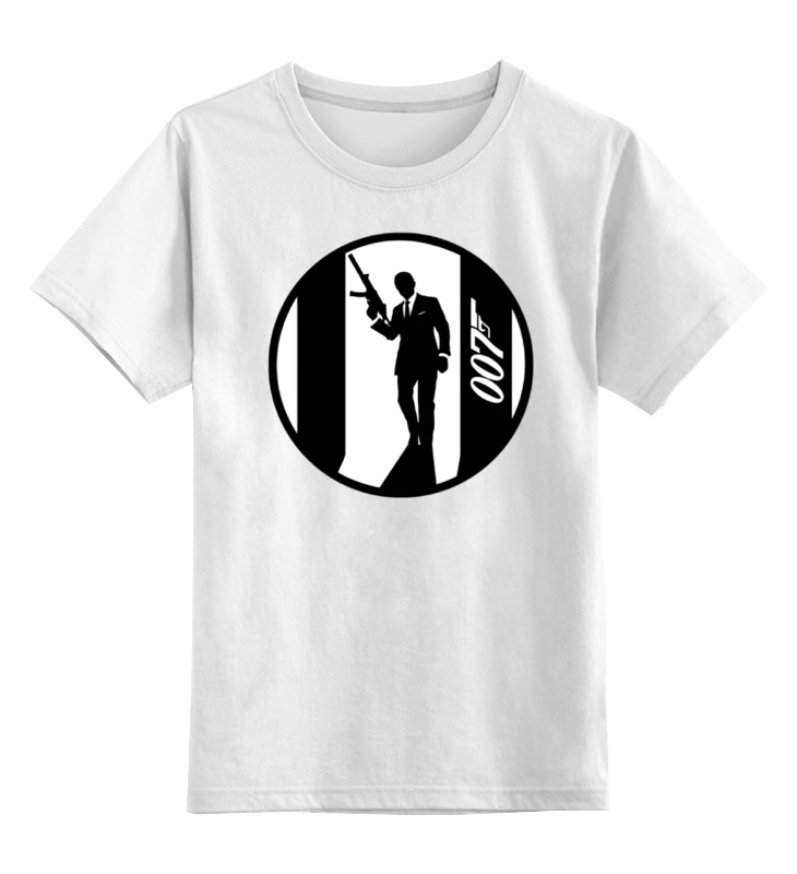 Детская футболка классическая унисекс Printio Джеймс бонд