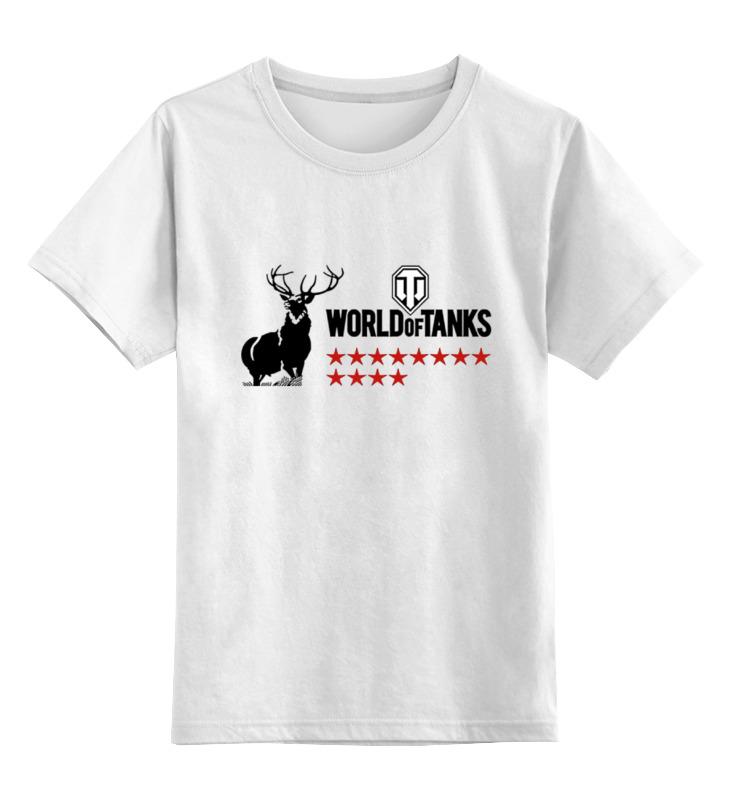 Детская футболка классическая унисекс Printio Олени wot толстовка wearcraft premium унисекс printio олени wot