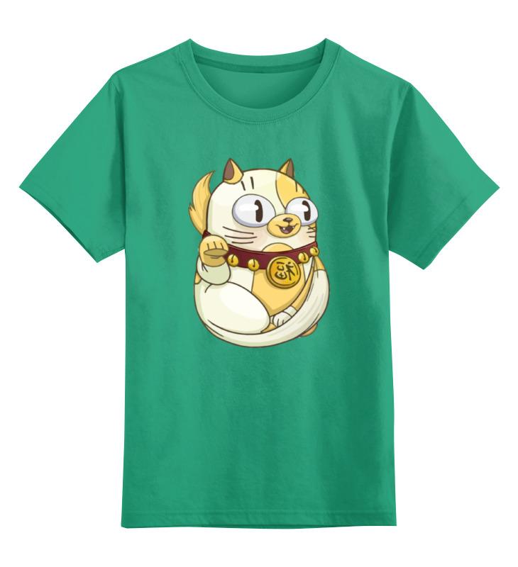 Детская футболка классическая унисекс Printio Милый котик детская футболка классическая унисекс printio бегемот