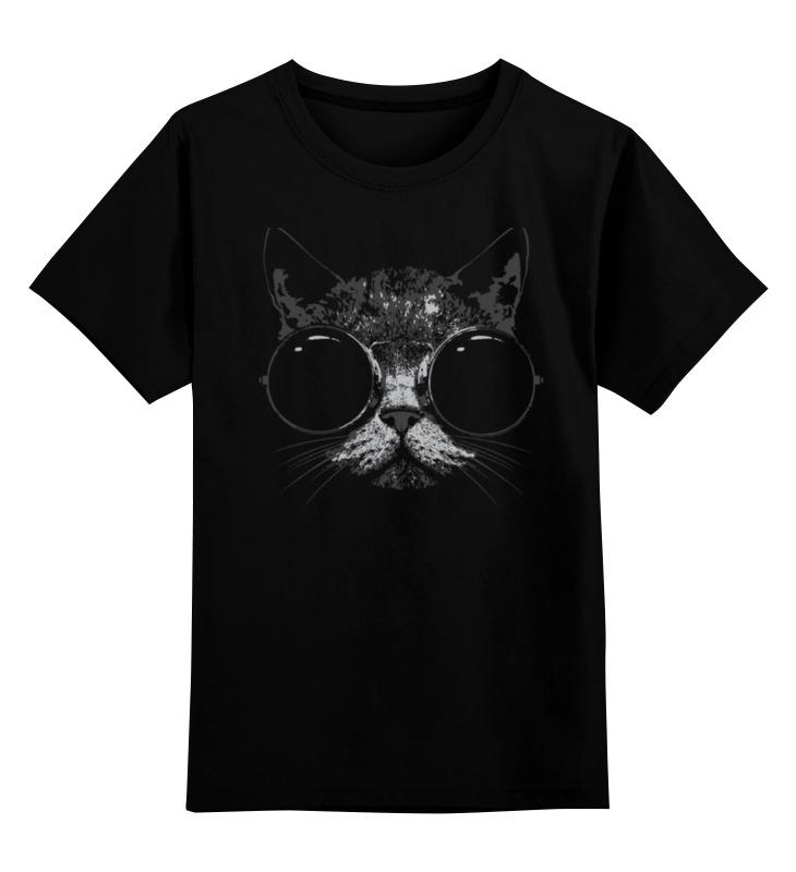 Детская футболка классическая унисекс Printio Стильный кот детская футболка классическая унисекс printio абстрактный кот