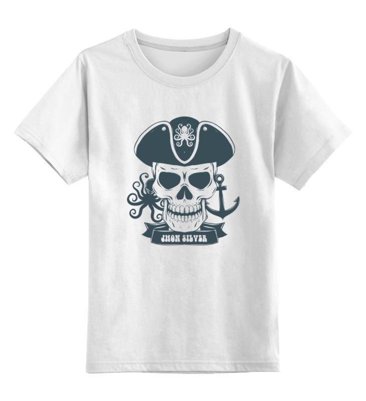 Детская футболка классическая унисекс Printio Пиратская