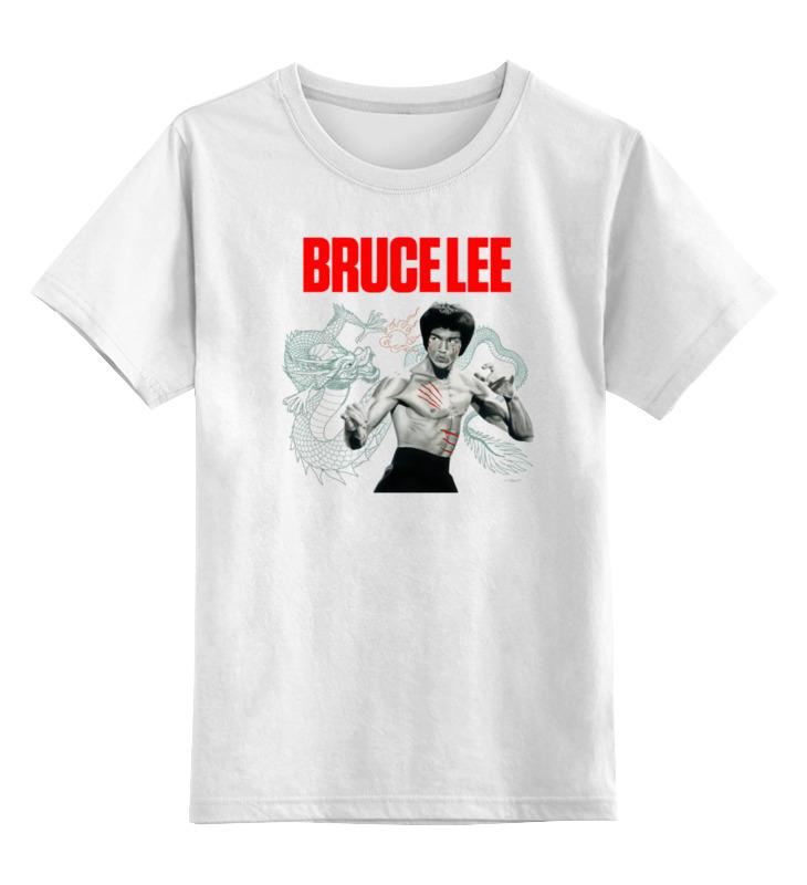 Детская футболка классическая унисекс Printio Bruce lee who was bruce lee