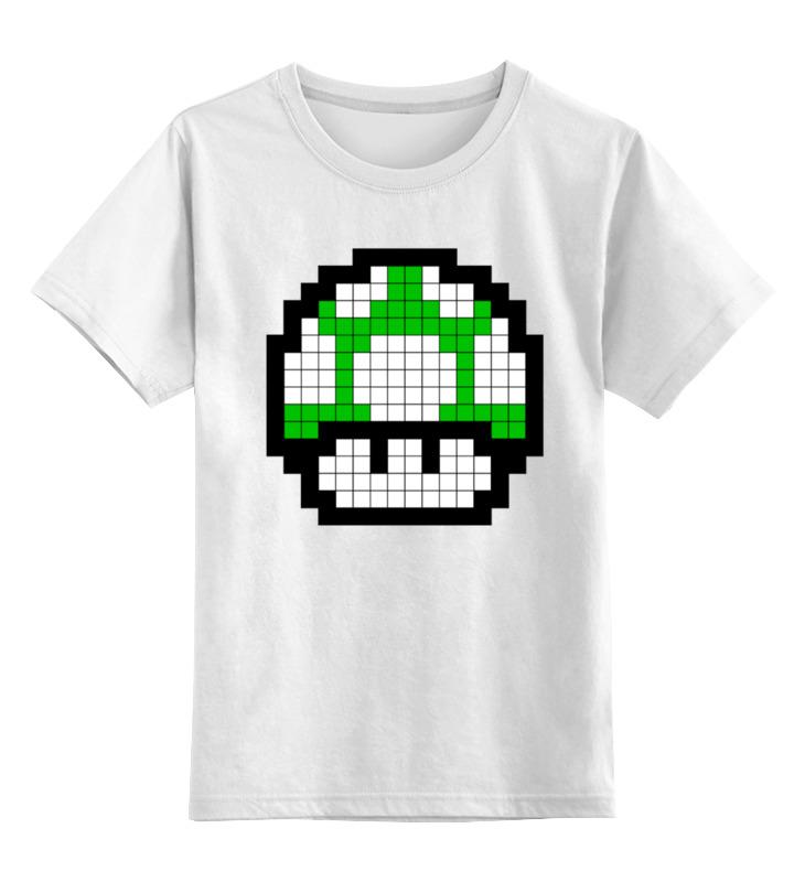 Printio Гриб из марио (8-бит) детская футболка классическая унисекс printio звезда марио 8 бит