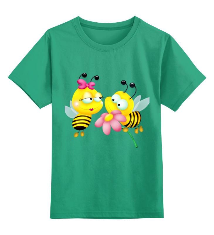 Детская футболка классическая унисекс Printio Пчелки вольдемар бонзельс приключения пчелки майи