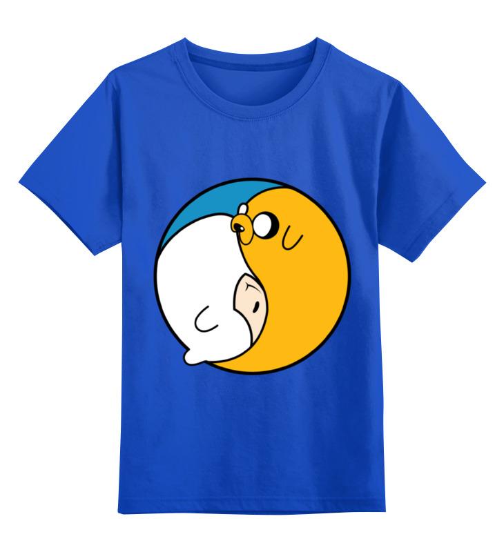 Детская футболка классическая унисекс Printio Adventure time / время приключений детская футболка классическая унисекс printio время приключений adventure time