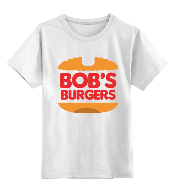 Детская футболка классическая унисекс Printio Закусочная боба (bob's burgers) jd burgers