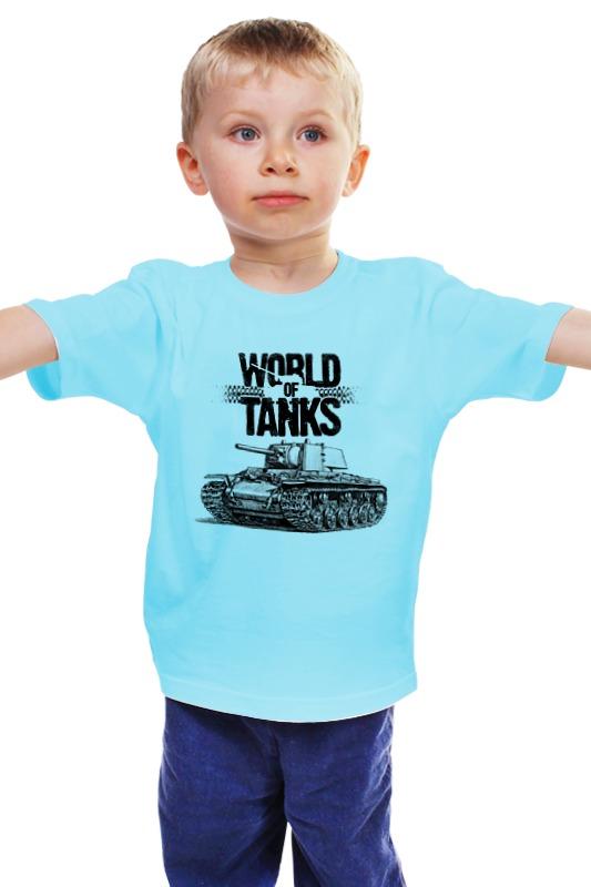Детская футболка классическая унисекс Printio World of tanks #26