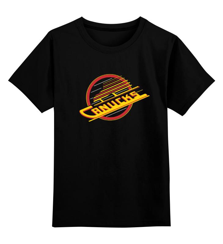 Детская футболка классическая унисекс Printio Vancouver canucks / nhl canada soulection vancouver