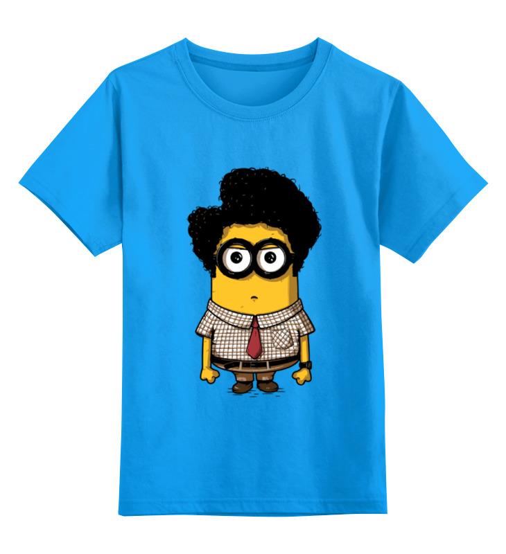 Детская футболка классическая унисекс Printio Minion moss детская футболка классическая унисекс printio minion dracula