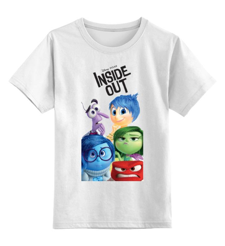 Детская футболка классическая унисекс Printio Головоломка
