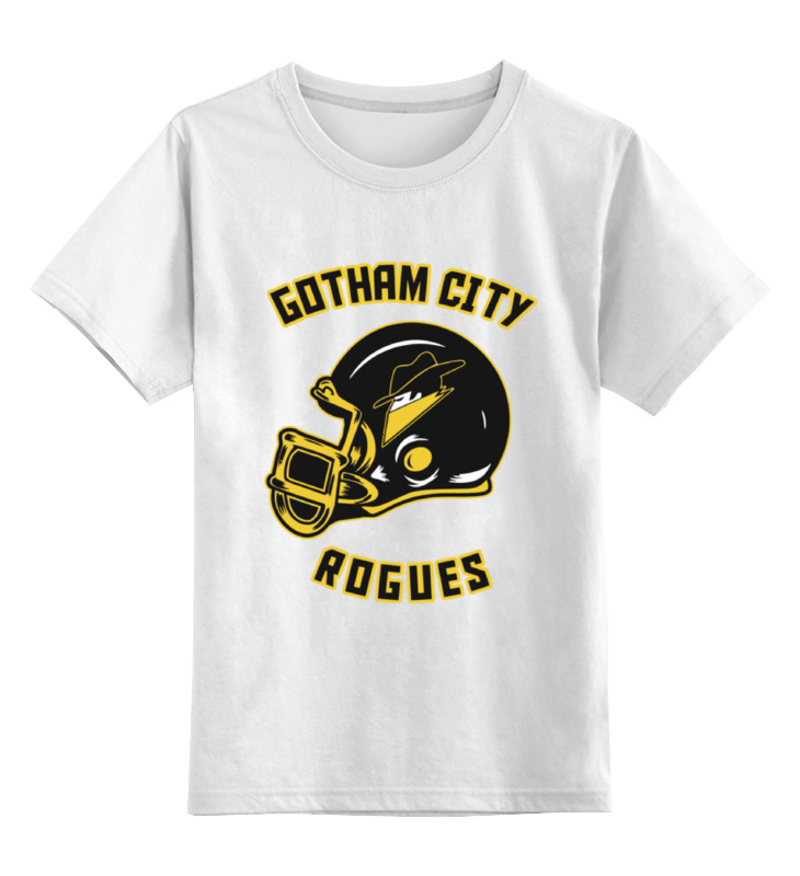 Детская футболка классическая унисекс Printio Шлем американский футбол