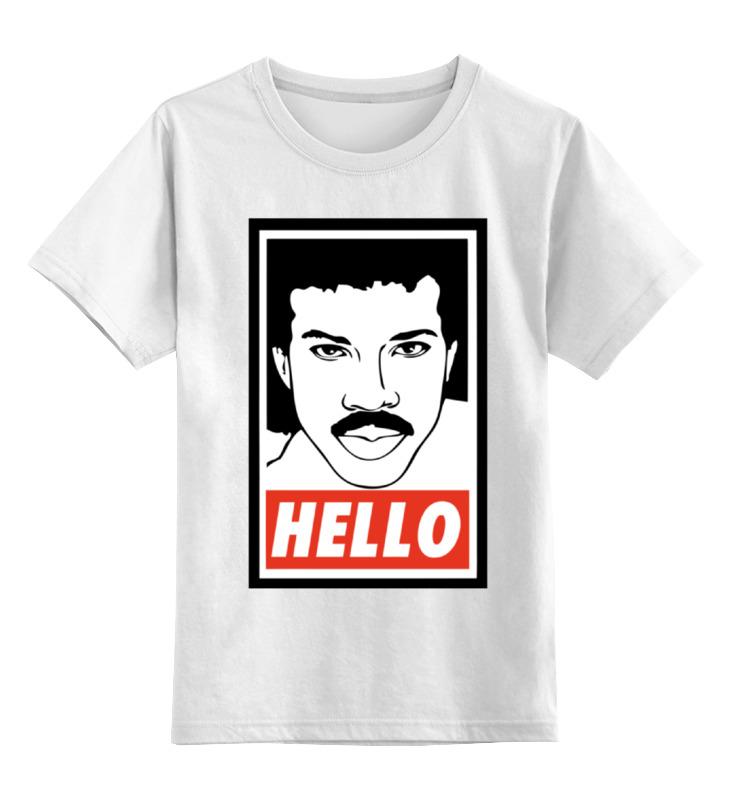 Детская футболка классическая унисекс Printio Лайонел ричи майка классическая printio лайонел ричи