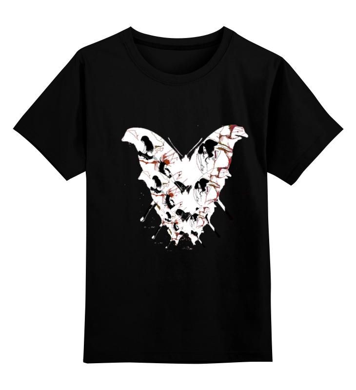 Детская футболка классическая унисекс Printio Бабочка ангела смерти футболка wearcraft premium printio бабочка ангела смерти