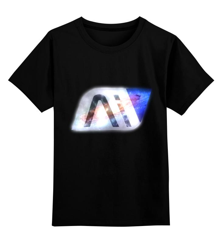 Детская футболка классическая унисекс Printio Mass effect andromeda