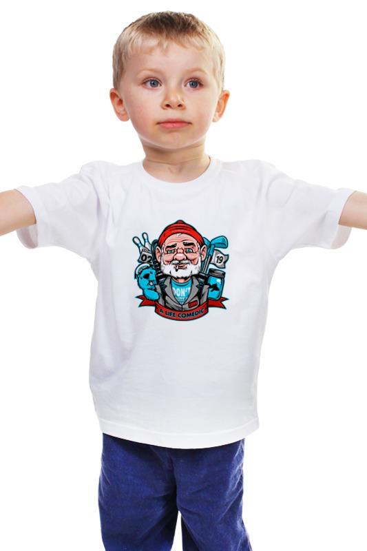 цена  Детская футболка классическая унисекс Printio Билл мюррей  онлайн в 2017 году