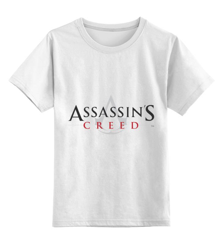 Детская футболка классическая унисекс Printio Assassins creed игра для xbox xbox360 assassins creed iii